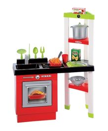 Ecoiffier Kitchen With Shelves