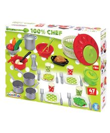 Ecoiffier Cooking Set - 47 Pieces