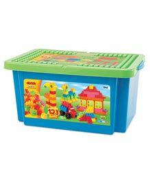 Ecoiffier Abrick Bricks Box - 123 Pieces