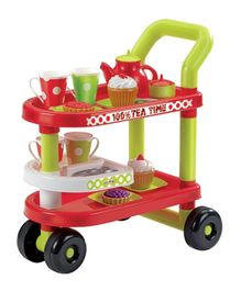Ecoiffier Tea Time Trolley - 27 Accessories