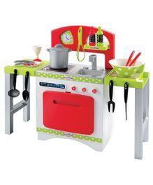 Ecoiffier Modular Kitchen - 18 Accessories