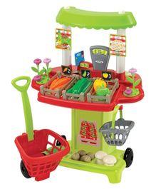 Ecoiffier Vegetable Market - 40 Pieces