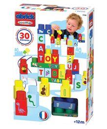 Ecoiffier Maxi Abrick Alphabet Set - Multi Colour