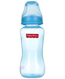 Fisher Price PP Feeding Bottle Blue - 8 Oz