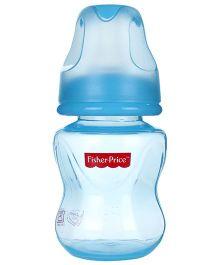 Fisher Price PP Feeding Bottle Blue - 4 Oz