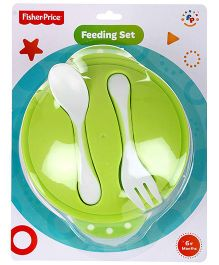 Fisher Price Baby Feeding Set - Green