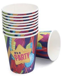 Birthdays & Parties Paper Glass Party Theme - 10 Pieces