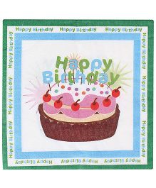 Birthdays & Parties Paper Napkins Birthday Theme - 10 Pieces