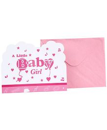Birthdays & Parties Invitation Cards With Envelope - Baby Shower Theme