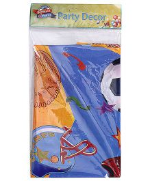 Birthdays & Parties Table Cover Sports Theme - Multi Colour