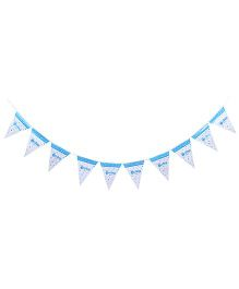 Birthdays & Parties Banner Baby Boy Theme - Multi Colour