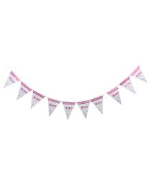 Birthdays & Parties Banner Baby Girl Theme - Multi Colour