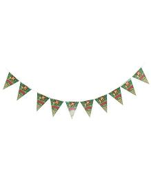 Birthdays & Parties Banner Jungle Theme - Multi Colour