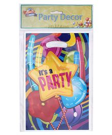 Birthdays & Parties Carry Bags Party Print - 10 Pieces