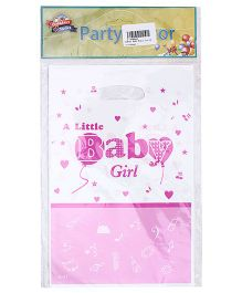 Birthdays & Parties Carry Bags Baby Girl Print - 10 Pieces