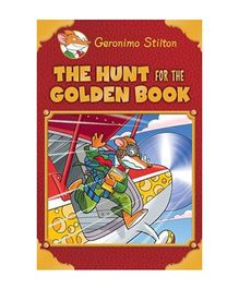 Scholastic Book The Hunt For The Golden Book - English