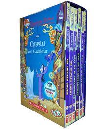 Scholastic Creepella Series 6 Books Box Set - English