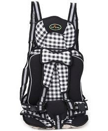 1st Step Booster Car Seat - Black