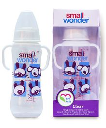 Small Wonder Clear Polypropylene Feeding Bottle - 250 ml