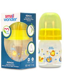 Small Wonder Admire Polypropylene  Feeding Bottle - 60 ml