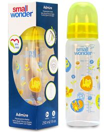 Small Wonder Admire Polypropylene Feeding Bottle - 250 ml