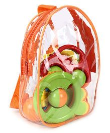 Kumar Toys Baby Rattle Set Of 5