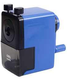 Deli Pencil Sharpener - Blue And Black
