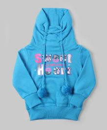 Brandeis Blue Sweetheart Sweatshirt