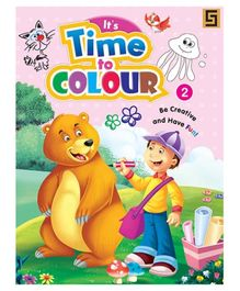 Its Time To Color Book Volume 2 - English