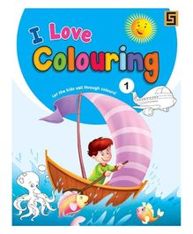 I Love Coloring Volume 1 - English