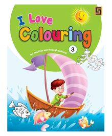 I love Coloring Volume 3 Book - English