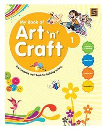 Golden Sapphire Art n Craft Book 1 - English