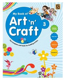 Golden Sapphire Art n Craft Book 3 - English