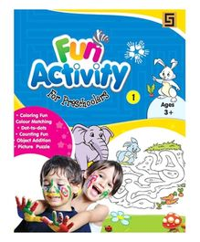 Golden Sapphire Fun Activity Book for Preschoolers 1 - English