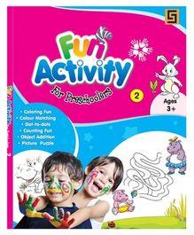 Golden Sapphire Fun Activity Book for Preschoolers 2 - English