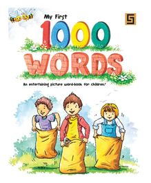 Golden Sapphire My First 1000 Words Book - English