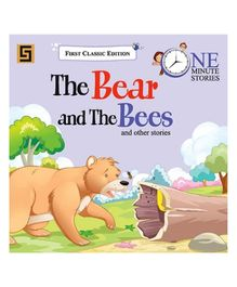 Golden Sapphire The Bear and The Bees One Minute Story Book - English