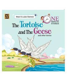 Golden Sapphire The Tortoise And The Geese Story Book - English