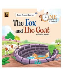 Golden Sapphire The Fox And The Goats Story Book - English