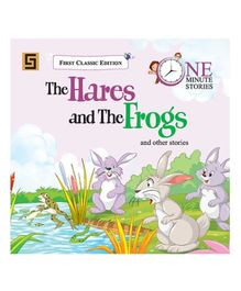 Golden Sapphire The Hares And The Frogs Story Book - English