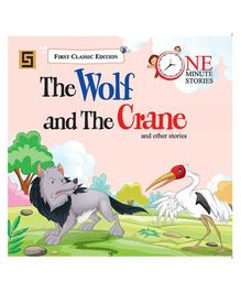 Golden Sapphire The Wolf And the Crane Story Book - English
