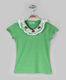 Fern Green Casual Top
