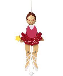 Sevi Jumping Jack Dancer Wooden Puppet - Height 22 cm