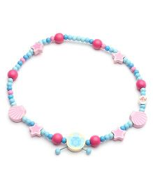 Sevi Wooden Necklace Ocean - Multi Colour
