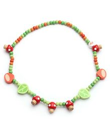 Sevi Wooden Necklace Forest - Multi Colour