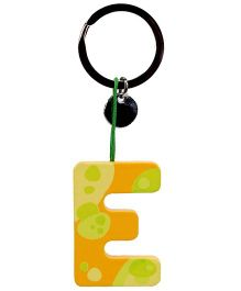 Sevi Key Ring - Wooden Letter E