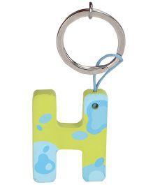 Sevi Key Ring - Wooden Letter H