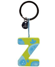 Sevi Key Ring - Wooden Letter Z