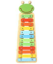 Sevi Metallic Xylophone Frog - Multi Colour
