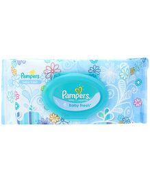 Pampers Baby Fresh Baby Wipes - 64 Pieces